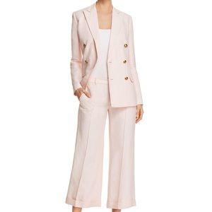 RALPH LAUREN Ryen Linen Blush Pink Blazer Jacket